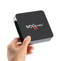 MXQ Pro Android 7.1 TV Box Amlogic S905W رباعية النواة 4K HD الذكية البسيطة PC 1G 8G WIFI H.265 Media Player