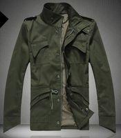 Profesyonel Tasarım Erkekler Ceket Standı Yaka Kişilik Ceketler Erkek Casual Slim Tipi Ceket