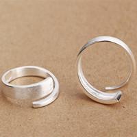 100% 925 anillos de plata Amor romance Infinito moda Anillo de plata esterlina Corbata de lazo Regalo de la fiesta de las mujeres joyería infinita para el amante de los enamorados