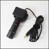Freeshipping 5MP USB 디지털 현미경 전자 아이 피스 USB 비디오 CMOS 카메라 산업용 아이피스 카메라 어댑터와 이미지 캡처