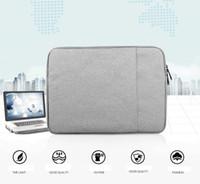 """11-15,6 pouces manchon d'ordinateur portable 11.6 12 13 """"MacBook Air Pro rétine Cover Cover Sac de protection Ultrabook Porte-documents portant pour Apple Samsung"""