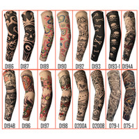 Randomly Trendy Unisex Outdoor Sport Anti- UV Fake Tattoo Sle...