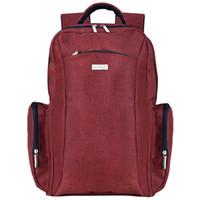 인형 대용량 여성 기저귀 가방 배낭 방수 아기 유모차 가방 사용 가능 패션 미라 기저귀 가방 레드 와인
