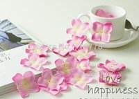 17 renkler 5000 adet / grup Düğün Süslemeleri Moda Atificial Çiçekler Toptan ipek Düğün Gül ortanca Yaprakları