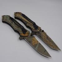 뜨거운 판매 스트라이더 나이프 휴대용 접는 주머니 칼 3Cr13 블레이드 알루미늄 핸들 전술 구조 생존 칼 사냥 캠핑 EDC 도구