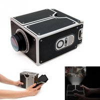 Wholesale- Good quality SmartPhone Projector DIY smart phone ...
