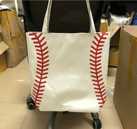 100pcs baseball bag Tote Bags Sports Bags Casual Tote Softba...