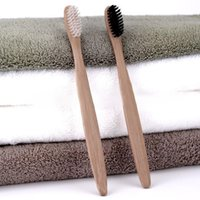 Hot 1PCS Double Ultra Soft Toothbrush Bamboo Charcoal Nano B...