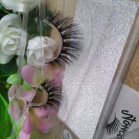 3D vizon kirpik şeritler lashes gerçek vizon saç güzellik makyaj için doğal makyaj sahte kirpikler sahte kirpik 10 modeller