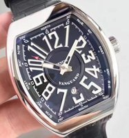 Super Mens Automatic Black Dial Watch Men Sapphire Tonneau E...