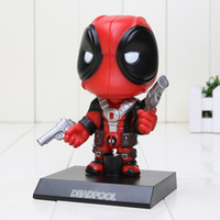 Deadpool Figure Toy Wacky Wobbler BobbleHead PVC Action Figu...