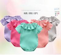 Милый новорожденный младенческий малыш ребёнок одежда одежды бродяга боди наряды 0-12m фото фотография костюм