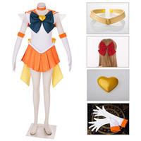 Sailor Moon SuperS Venüs Minako Aino Savaşı Cosplay Kostüm