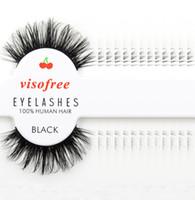 Wholesale- 12 pairs lot Visofree Eyelashes Extension Dramati...