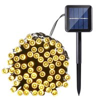 39FT Solar LED String Light 100 Light 8 Modes Fairy Lighting...