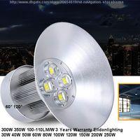 LED Highbay Işıklar 350W 300W AC85-265V 100LM COB Lambalar Industrail Ampuller Su geçirmez IP65 Sel Yüksek Bay Doğrudan Shenzhen Çin Toptan