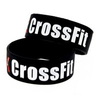1PC 1 Inch Wide The Box CrossFit Silicone Wristband Perfect ...