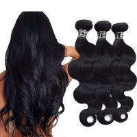 3 bundles Brazilian Body Wave Human Hair Extensions Top Qual...