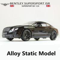 1:24 نماذج سيارة سبيكة ثابتة، لعبة سيارات بنتلي محاكاة عالية، Diecasts المعادن، لعبة السيارات،