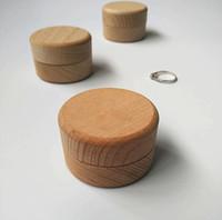 مخصص صندوق الدائري، شخصية زفاف / عيد الحب الخطوبة خشبي حامل حزام مربع، حامل حلقة الفلاح الزفاف صندوق