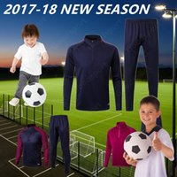 2018 KID YOUTH CHILDREN City Tranining KITS outfits Tracksui...