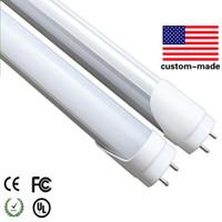 4피트는 1,200mm 4피트 20W 25W AC 100V-240V G13 LED 형광 튜브 SMD2835 6000K 화이트 CE UL T8 튜브를 주도