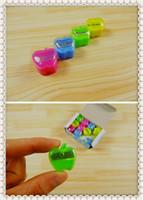 Carino Cancelleria Matita mela Temperamatite Materiale scolastico Accessori da scrivania Cancelleria coreana Cancelleria kawaii