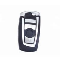 4 кнопки смарт-карты чехол дистанционного ключа Shell для BMW 5 7 серии с аварийным лезвием автосигнализации корпус Keyless Entry Fob крышка