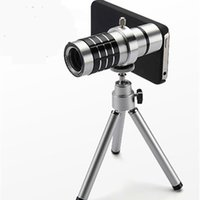 Mobile phone 12 times the telescope with universal clip clip...