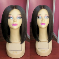Silk Base Full Lace Wigs BOB Short Silk Top Lace Front Wigs ...