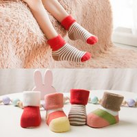New Arrival Candy color Cute Cotton Children Socks Winter Co...