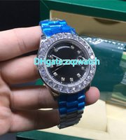 New big diamond watch brand automatic mechanical men' s ...