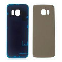 300 ADET Pil Geri Konut Kapak Cam Kapak Samsung Galaxy S6 G9200 S6 Kenar G9250 Yapıştırıcı ile ücretsiz DHL