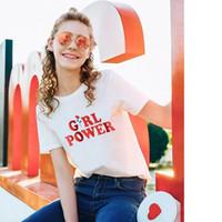 2017 mode-design Mädchen Power t-shirts für mann Kawaii t-shirt frauen crop tops kleidung harajuku t-shirt NV51 RF