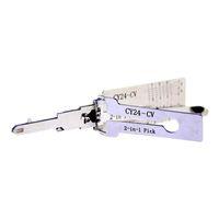 Lishi Anahtar Okuyucu CY24-CV Chrysler Oto Kilit Seçim ve Dekoder için Araba Anahtarı Aracı Çilingir Araçları