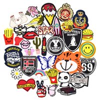 Diy patches for clothing iron embroidered patch applique iro...