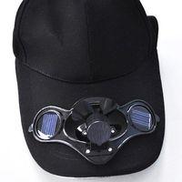 Nieuwe Solar Fan Cap Solar Shading Sun Hat Fishing Hat Baseball Cap met Fan