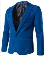 Hot new primavera moda Doce Cor Elegante Slim Fit Jaqueta de Terno dos homens Casual Blazer Boate trajes roupas / M-3XL