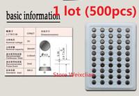 500 قطع 1 وحدة cr927 3 فولت بطارية ليثيوم أيون زر خلية البطارية cr 927 3 فولت بطاريات ليثيوم أيون عملة صينية حزمة شحن مجاني