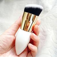 Pinceaux de maquillage à tête ronde de grande taille