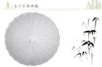 parasoles de bodas nupciales Paraguas de papel mini blanco Paraguas de mini artesanías chino 4 Diámetro: 20,30,40,60cm decoración de boda favor