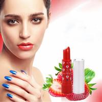 Netter süße rote Erdbeere Moisturizer Baby-Lippenbalsam Make-up Magie Temperatur der neue Ankunft Farbe ändern Lippenbalsam