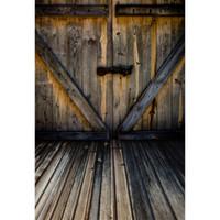 خمر رمادي باب خشبي الفينيل خلفية للطفل الوليد استوديو صور التصوير الدعائم أطفال الأطفال التصوير خلفية الأرضيات الخشبية