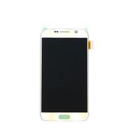 Samsung galaxy S6 için lcd ekran dokunmatik ekran digitizer G920i G920P G920f G920V G920A G920W8 samsung s6 için lcd 100% orijinal