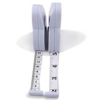 Hot sale 200 pçs / lote # Preciso Dieta de Fitness Caliper Medição Corpo Cintura Fita Métrica Frete Grátis