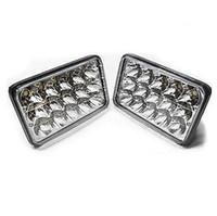 Oświetlenie 6-calowe 45 W LED Light Bar Spot Wymień HID Driving Headlamp Offroad 12V 24V