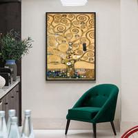 Boom of Life Pure handgeschilderde abstracte kunst olieverfschilderij op hoge kwaliteit Canvas Wall Art Decor Meerdere maten