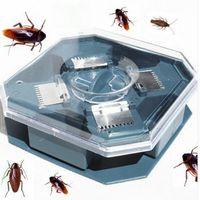 Haşere Verimli Hamamböcekleri Tuzak Killer Artı Büyük Kovucu Reddetmek Hiçbir Kirletici Hiçbir Zehir Mini Otomatik Hamamböceği Catcher Makinesi Tuzakları Killer