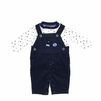Baby Clothes Boys Sets Cotton Tshirt Suspender Star Pattern ...