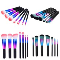 7pcs set Kakubi Colorful Cosmetic Makeup Brushes Foundation ...